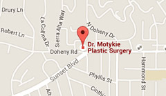 Google Map to Dr. Motykie